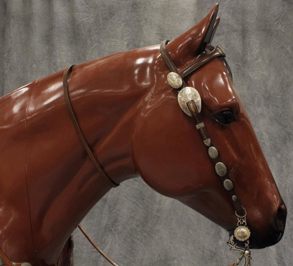 Life-Size Brown Horse - 6