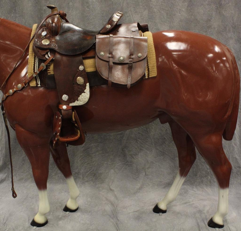 Life-Size Brown Horse - 9