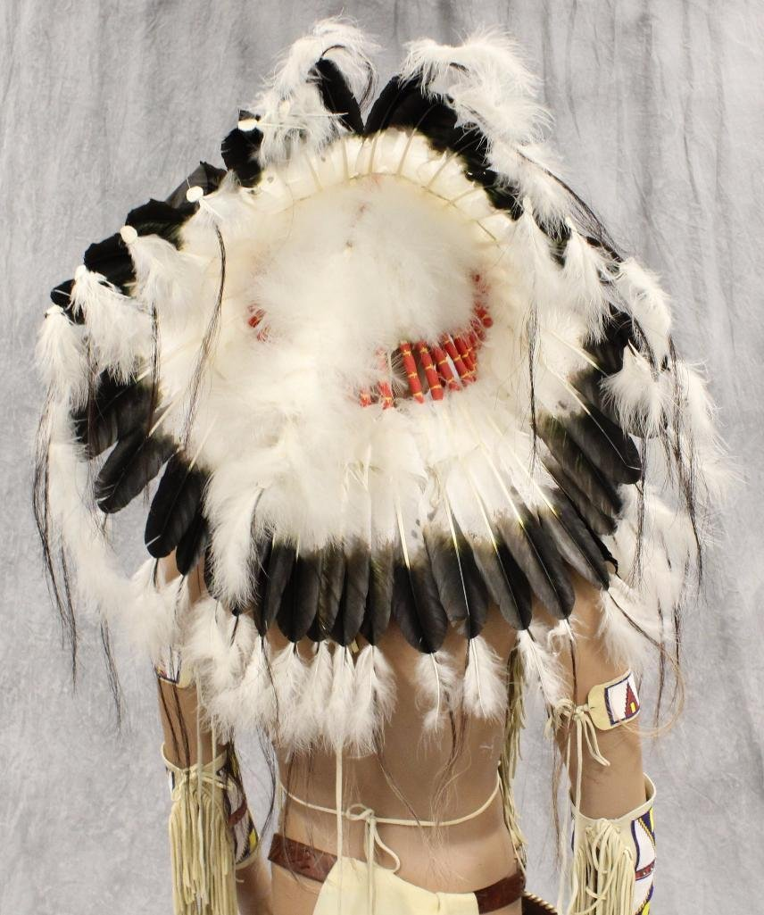 Indian War Chief Mannequin  Dressed in Tecumseh's - 8