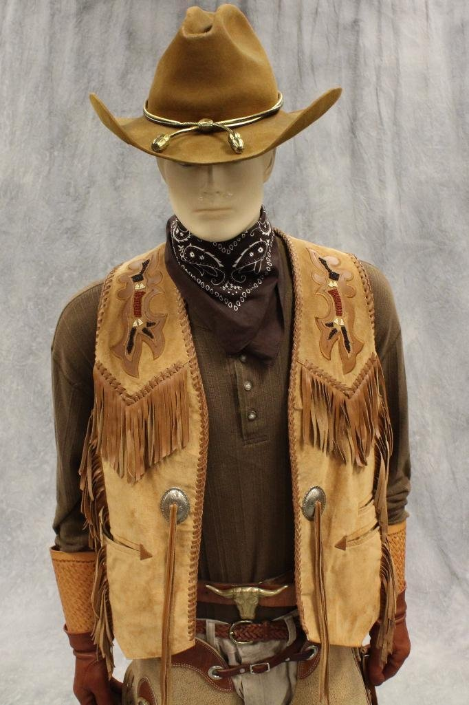 """Wanted Dead or Alive"" Cowboy Mannequin"