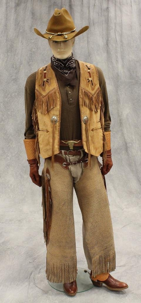 """Wanted Dead or Alive"" Cowboy Mannequin - 2"