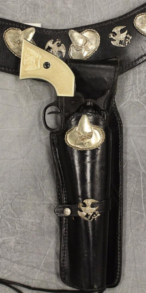"""Cisco Kid"" Holster Gun Belt - 3"