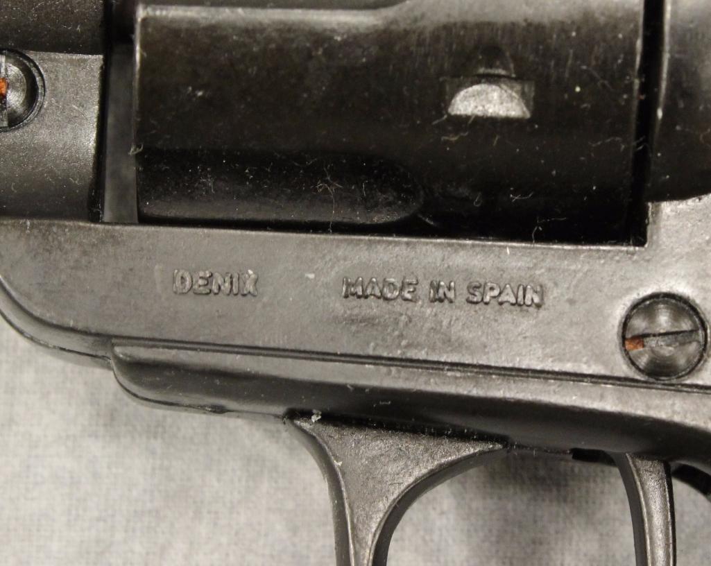 """Cisco Kid"" Holster Gun Belt - 8"