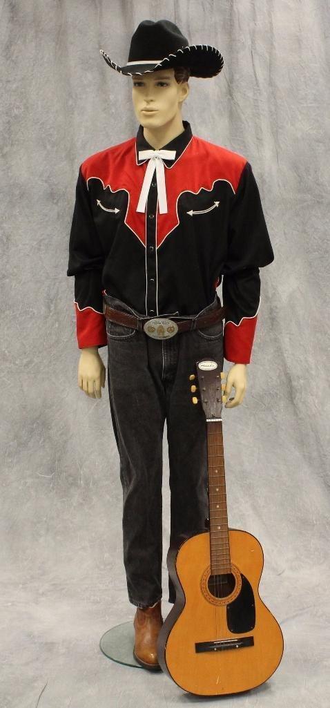 """Singing Cowboy"" Mannequin - 2"