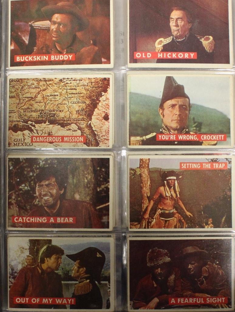 Davy Crockett Green Back Trading 80 Card Collection