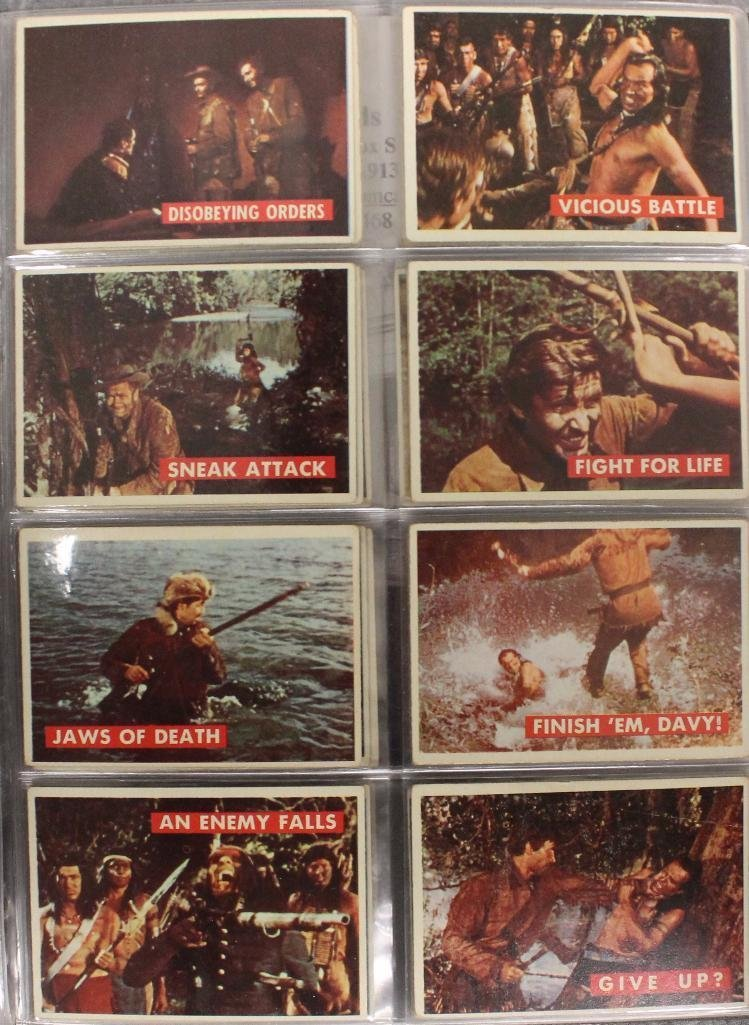 Davy Crockett Green Back Trading 80 Card Collection - 3