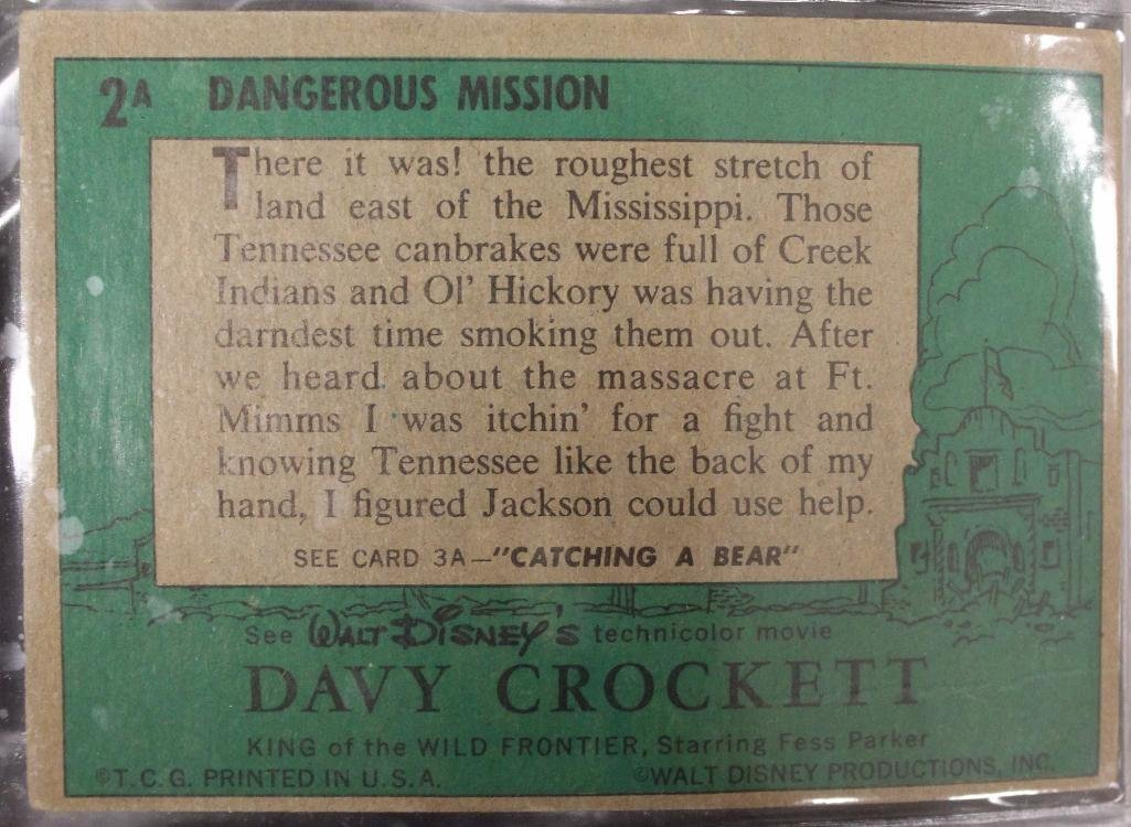 Davy Crockett Green Back Trading 80 Card Collection - 7