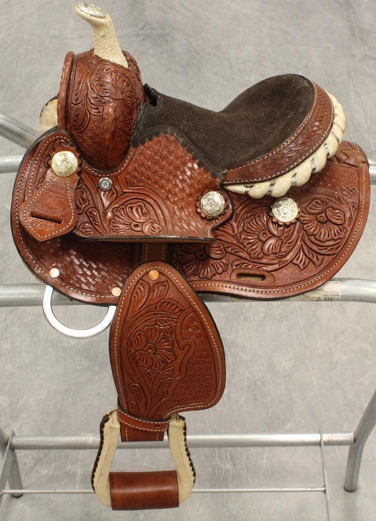 """Miniture 7"""" Pony Saddle - 5"""