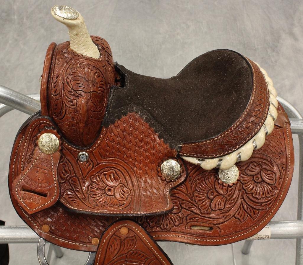 """Miniture 7"""" Pony Saddle - 6"""