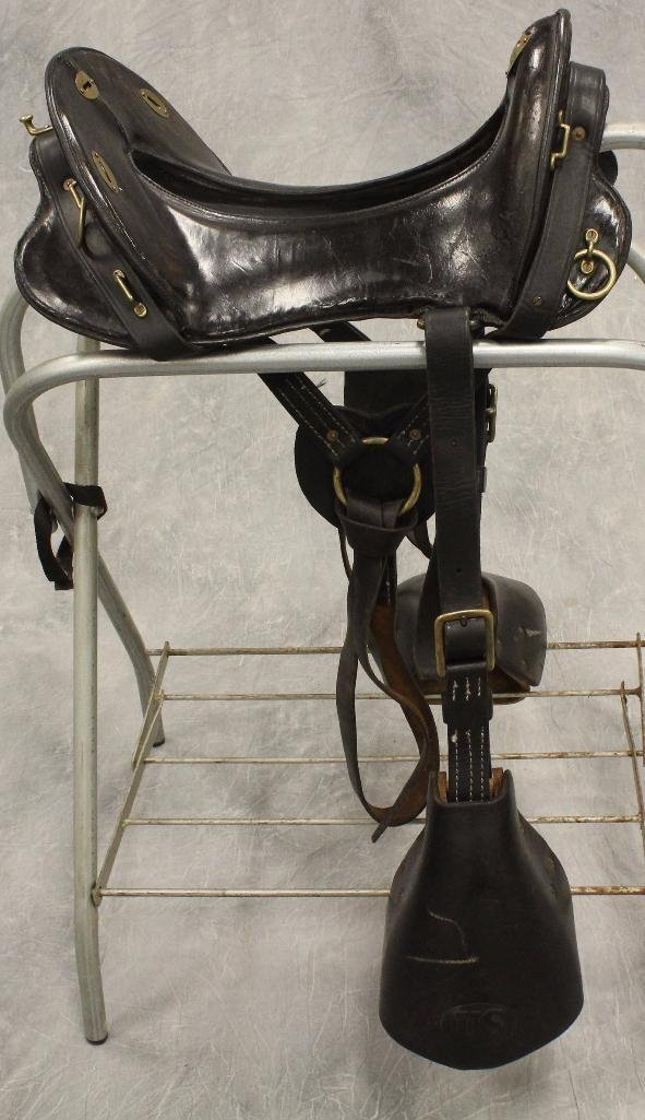 "Union Army 17"" Calvary Saddle"