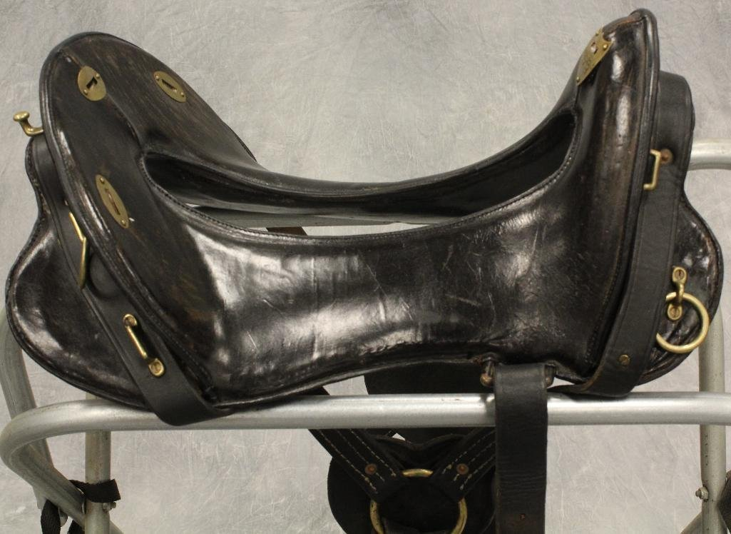"Union Army 17"" Calvary Saddle - 8"