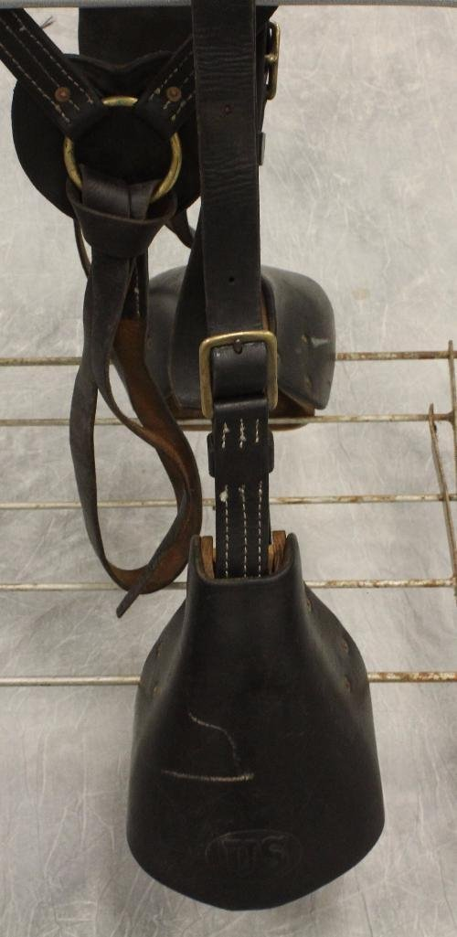 "Union Army 17"" Calvary Saddle - 9"