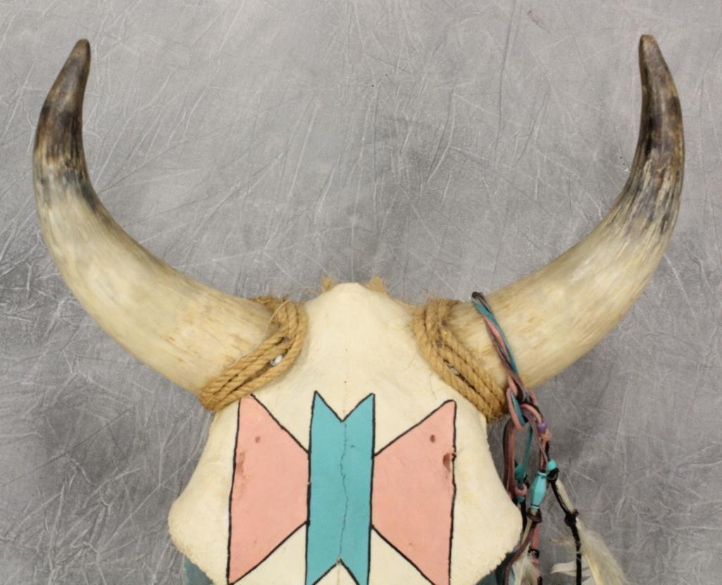 Steer Skull Painted Face - 2