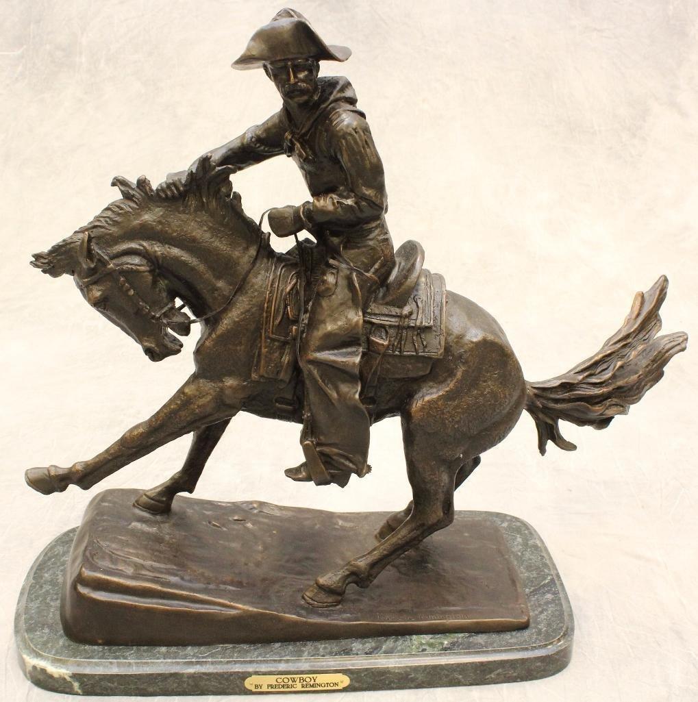 Remington Reproduction Cowboy Bronze