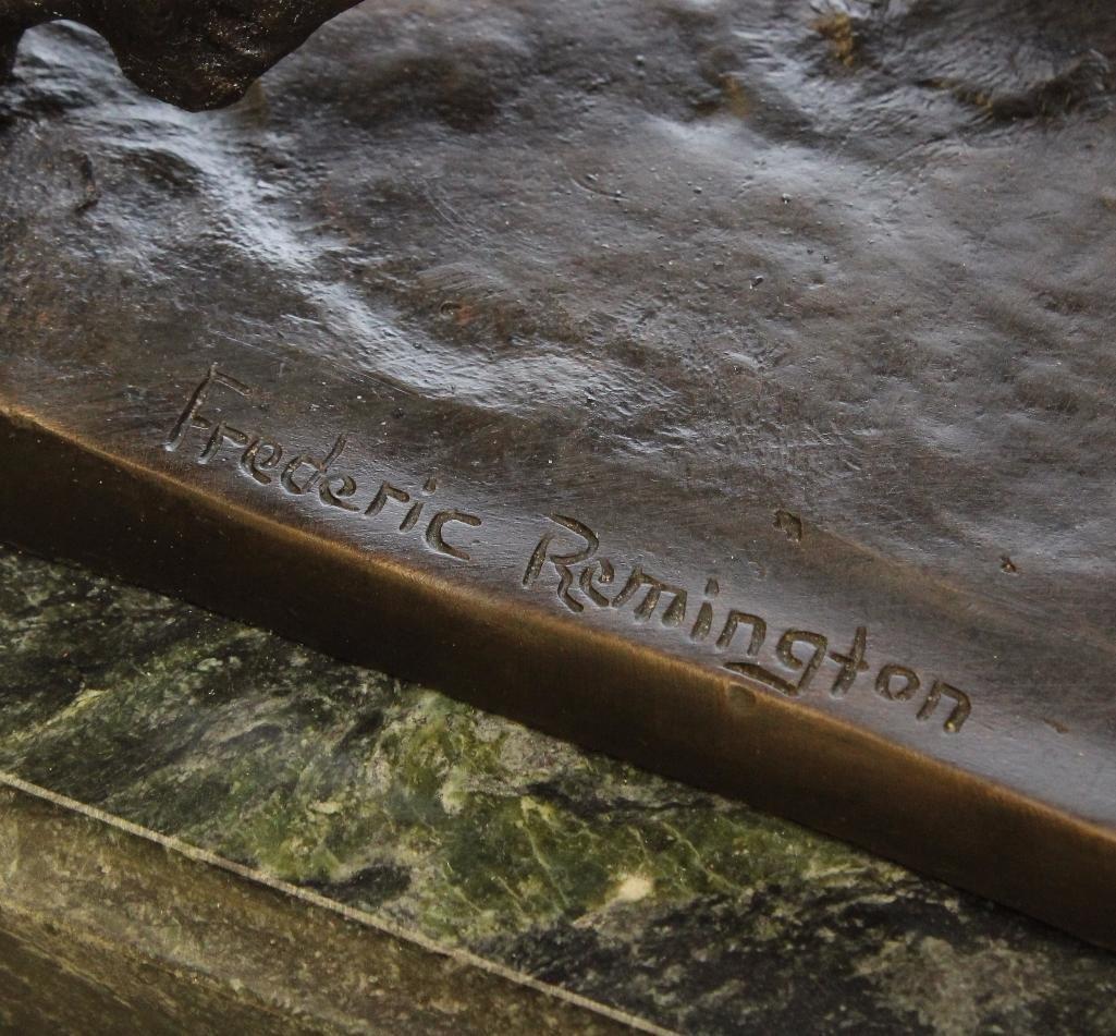 Remington Reproduction Cowboy Bronze - 2