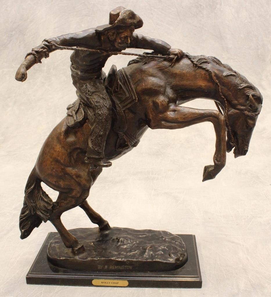 Remington Reproduction Cowboy Bronze