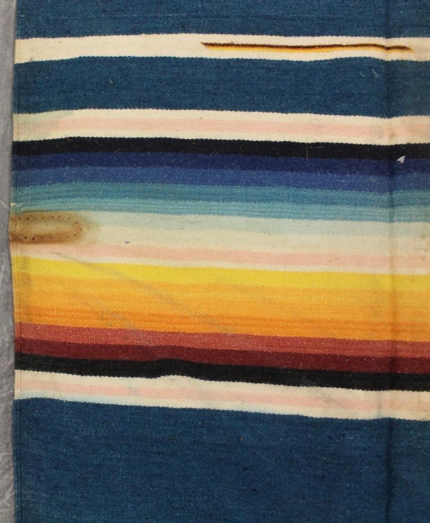 Mexican Multi-Color Fringe Blanket - 4