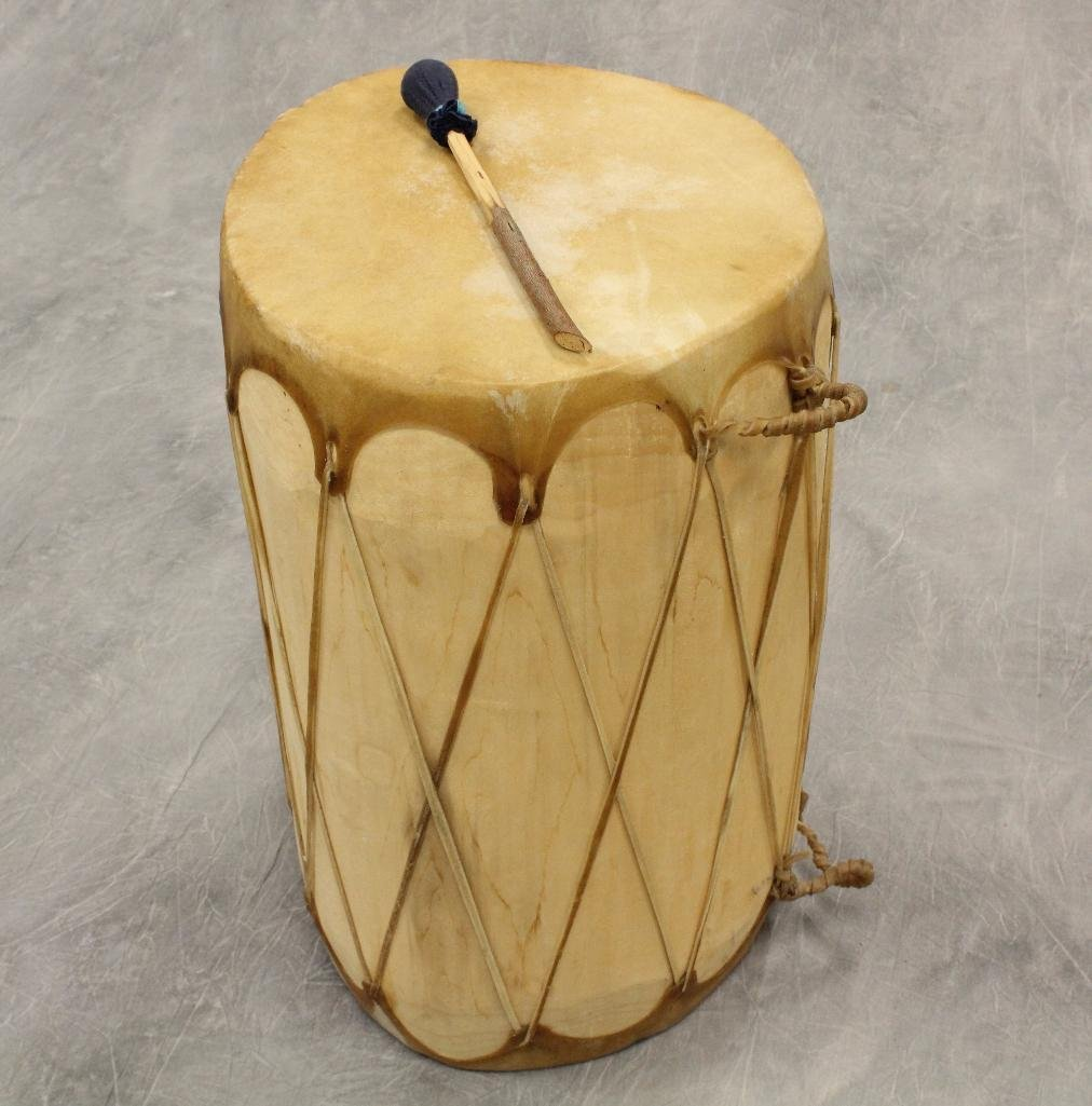 Native American  War Drum with Drumstick