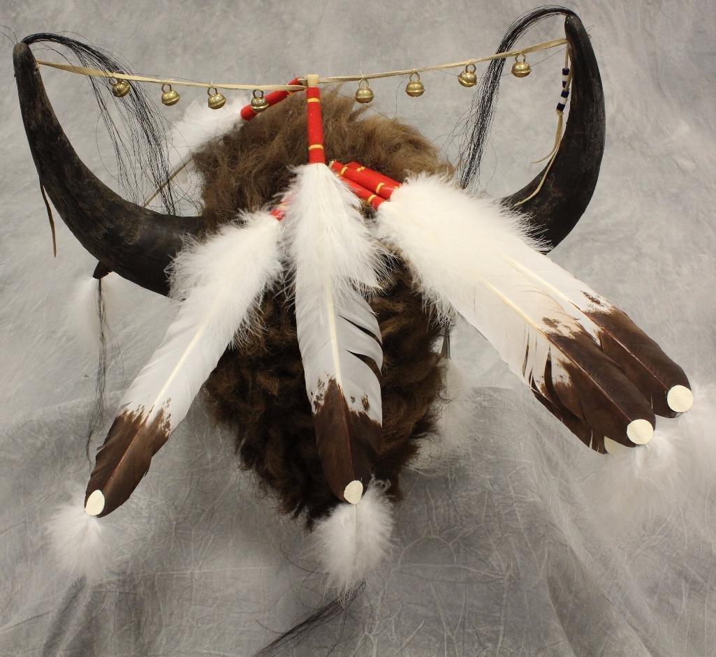 Native American Medicine Man Headdress by Tecumseh's - 2