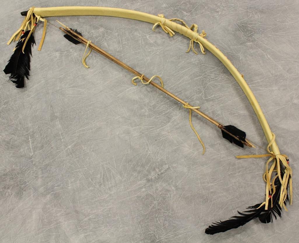 Native American  Bow & Arrows