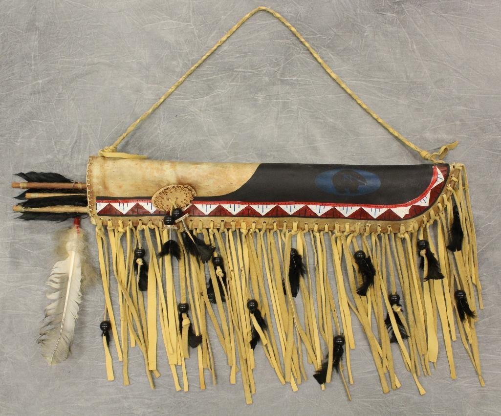 Indian Quiver and Arrows
