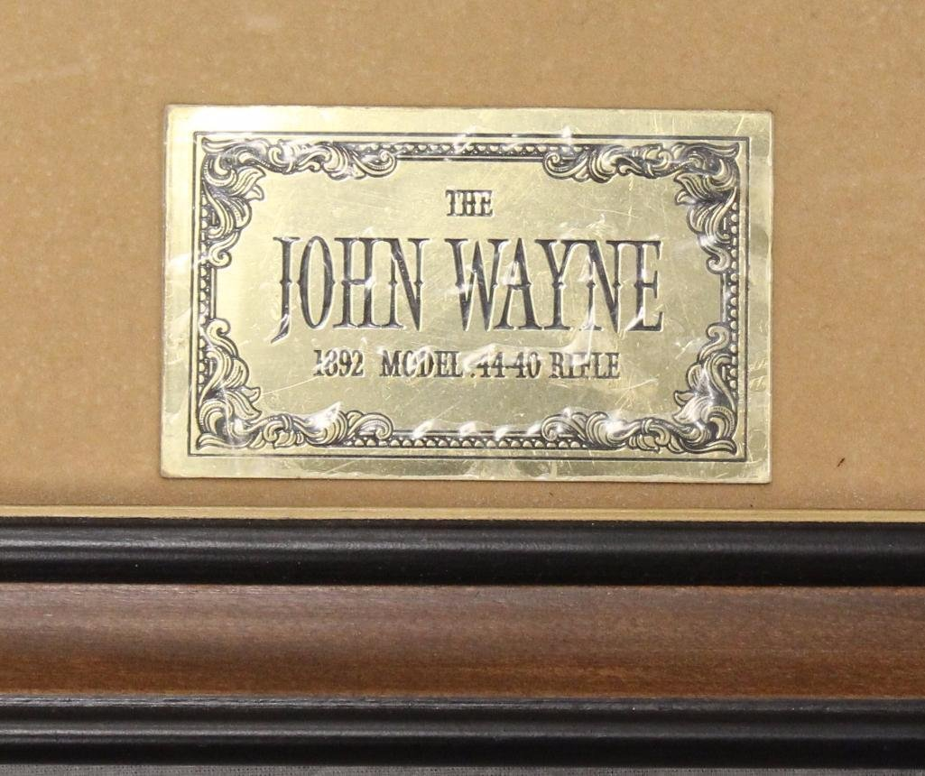 John Wayne Franklin Mint Rifle - 7
