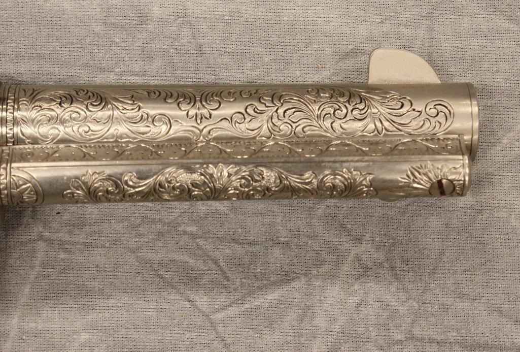 John Wayne Franklin Mint Replica 45 cal Colt Pistol - 4