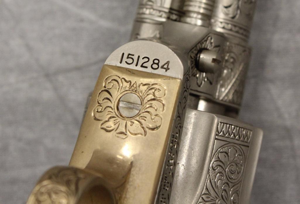 John Wayne Franklin Mint Replica 45 cal Colt Pistol - 6