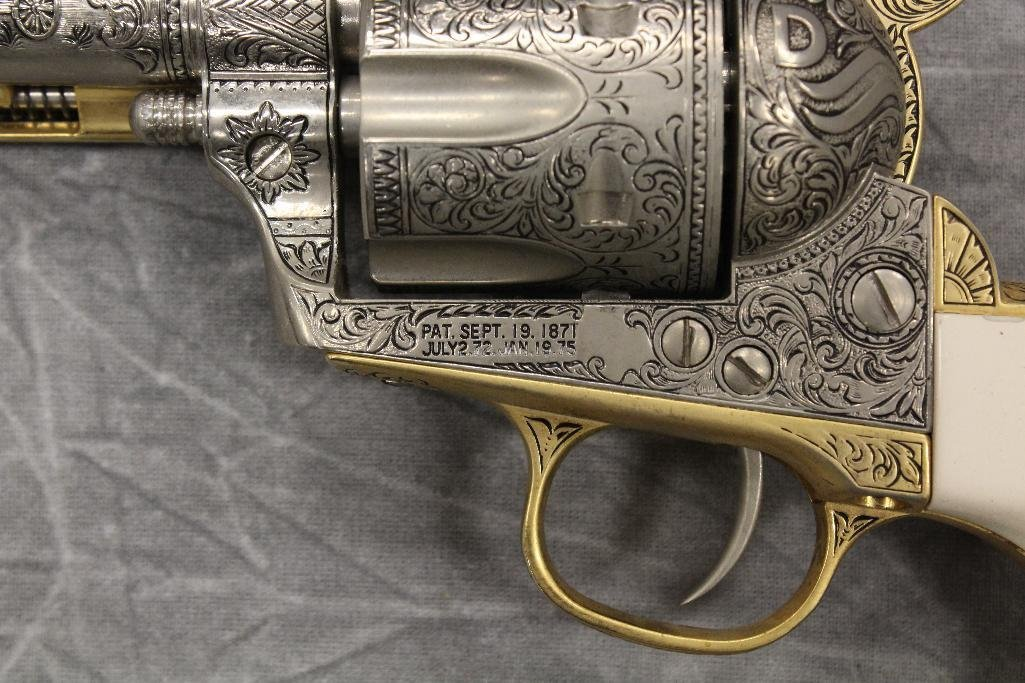 Replica Engraved Eagle Grip Pistol - 10