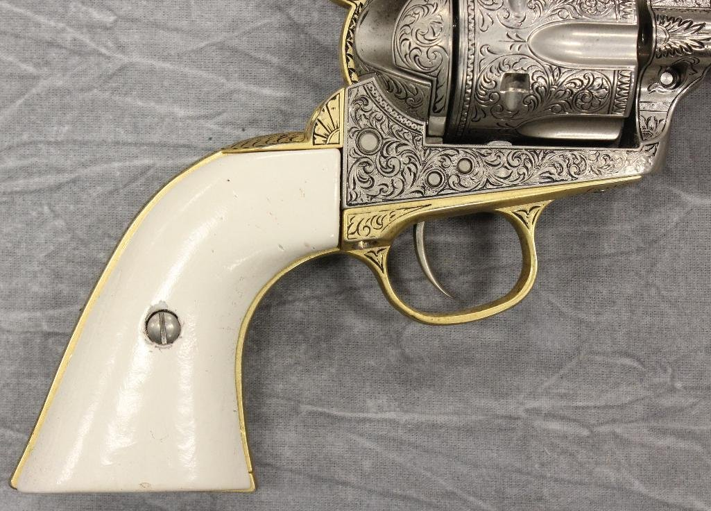 Replica Engraved Eagle Grip Pistol - 2
