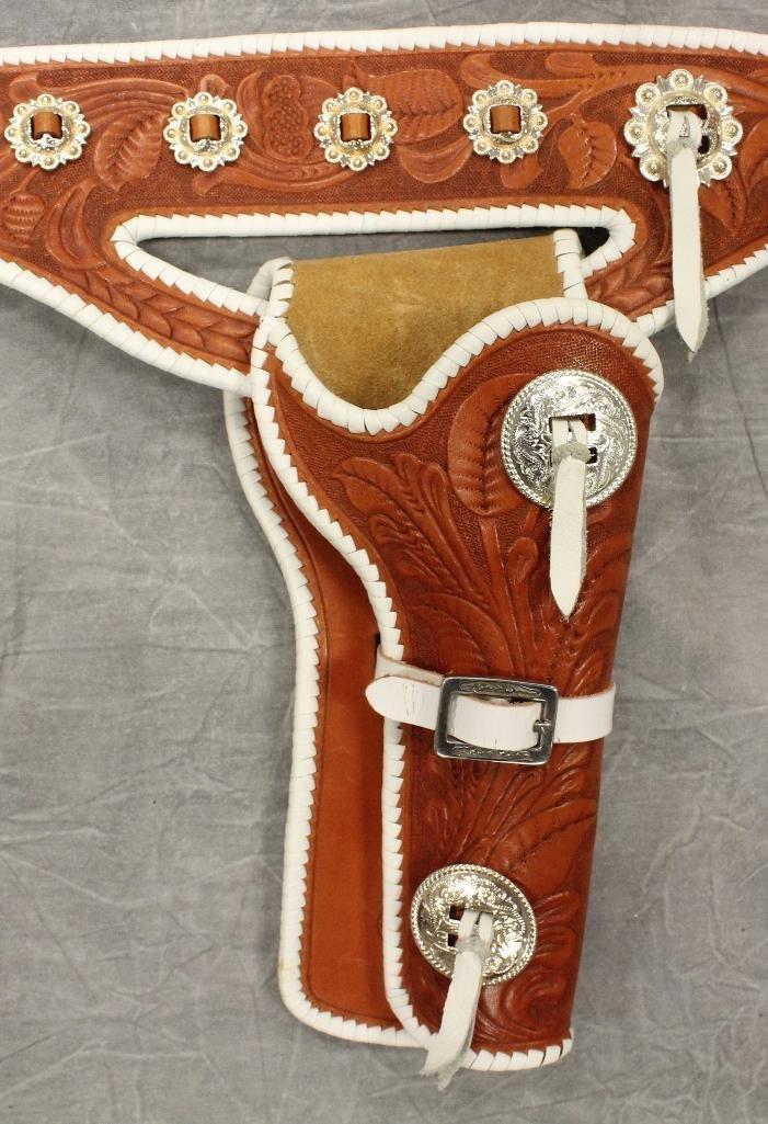 Buck Jones Double Buscadero Holsters and Gun Belt - 2