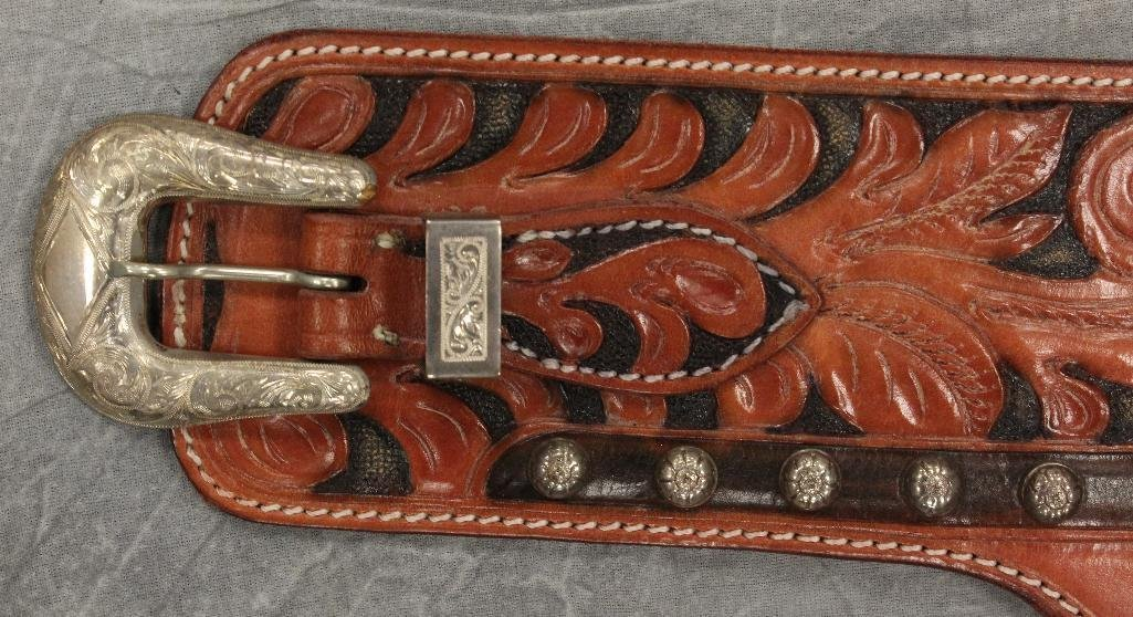 Roy Rogers Double Gun Belt - 3