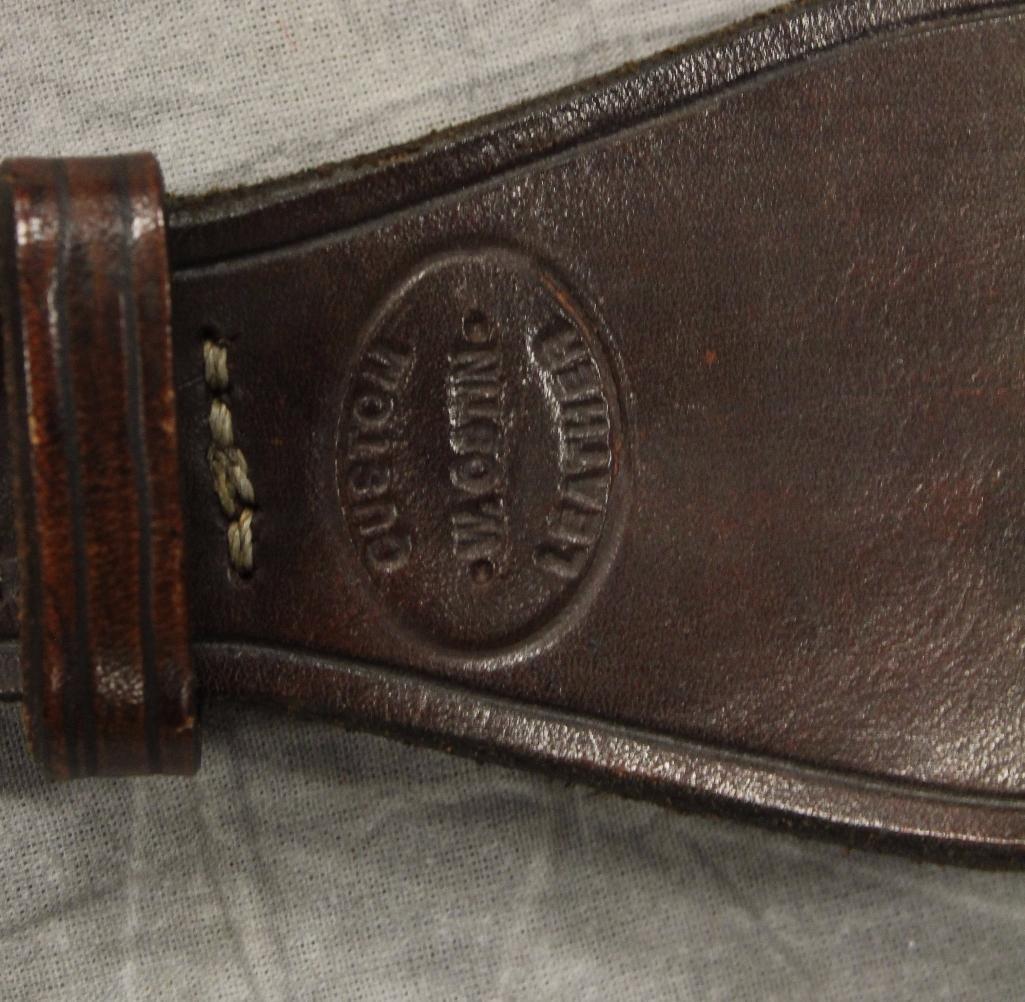 Tonto Single Holster Gun Belt - 3