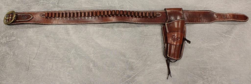 "John Wayne ""Red River"" Single Holster Gun Belt"