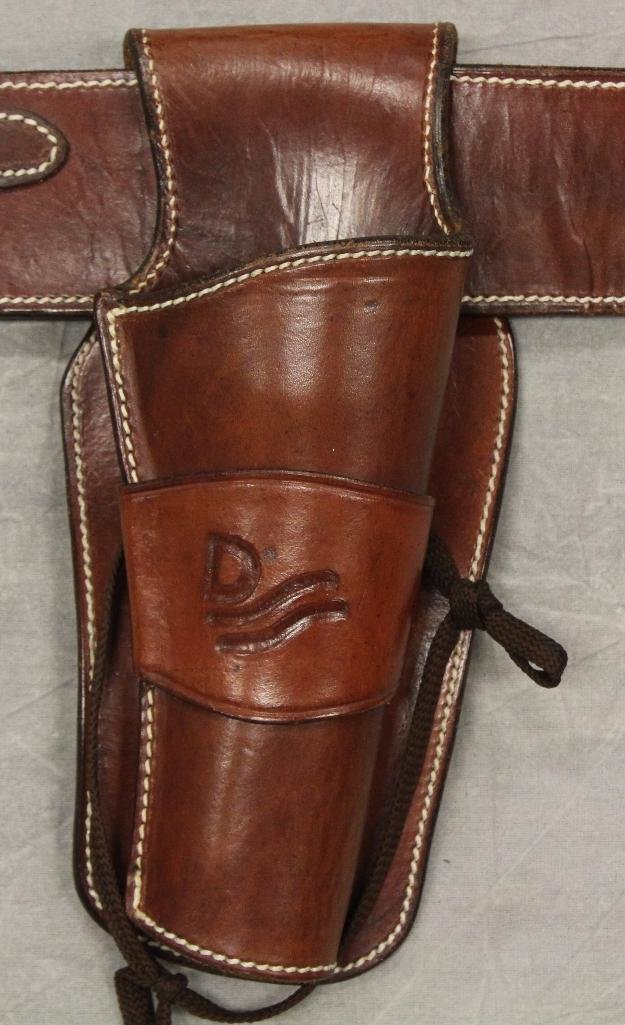 "John Wayne ""Red River"" Single Holster Gun Belt - 2"