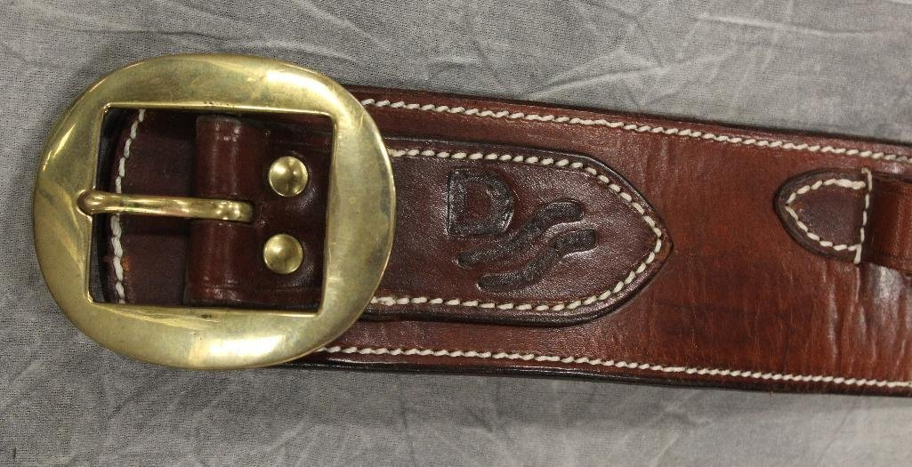 "John Wayne ""Red River"" Single Holster Gun Belt - 3"
