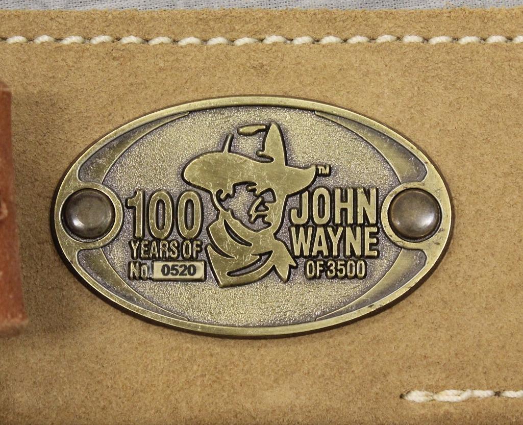 "John Wayne ""100 Years"" Single Holster Gun Belt - 4"