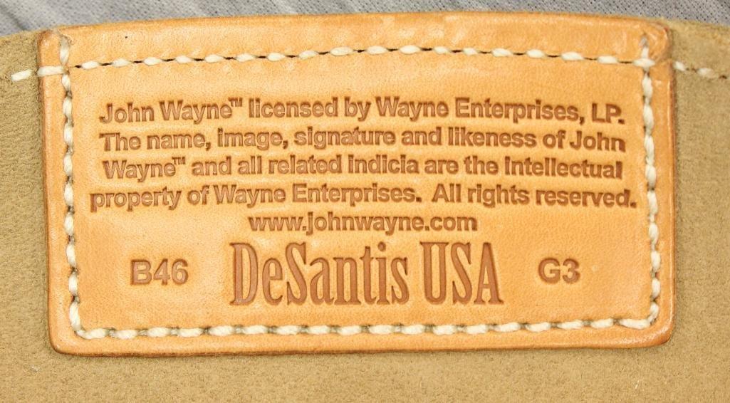 "John Wayne ""100 Years"" Single Holster Gun Belt - 7"