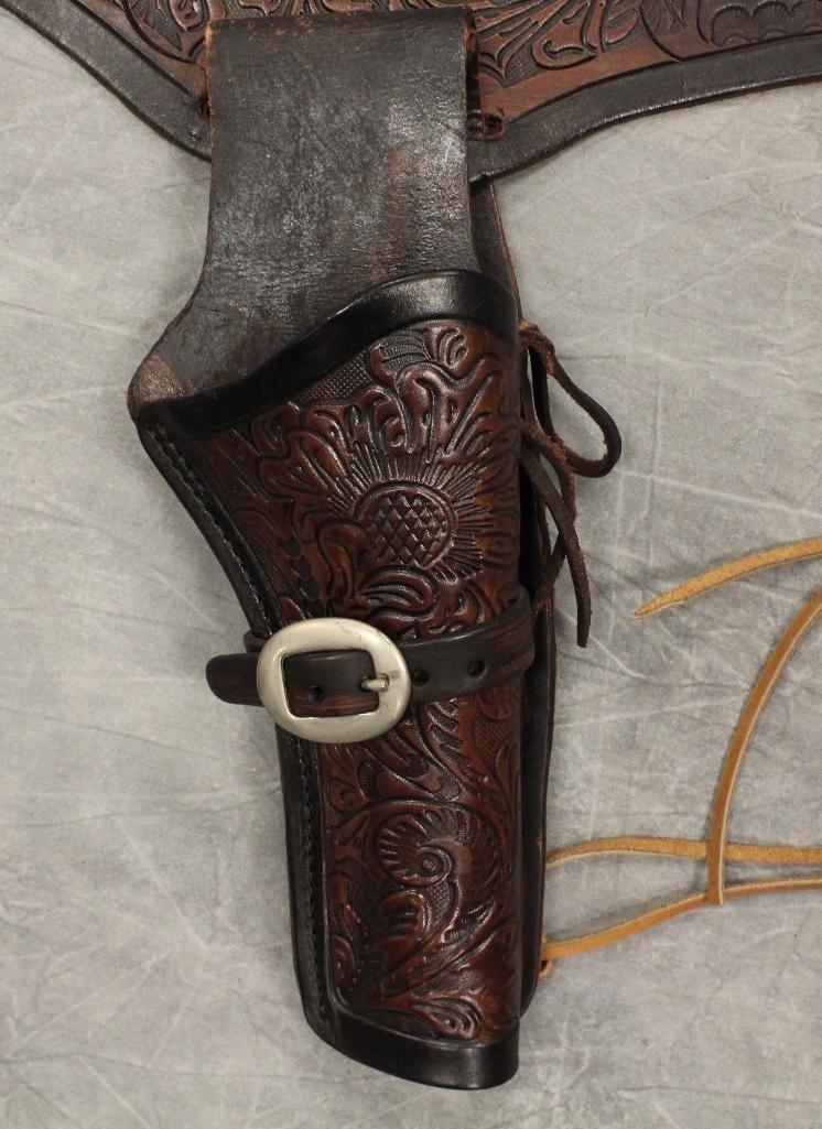 Single Holster Gun Belt Extra Large - 2