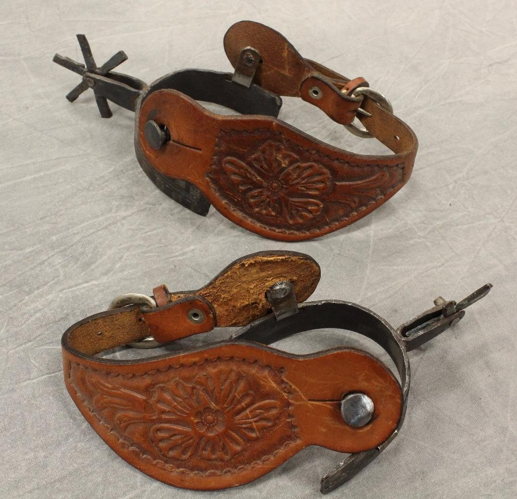 2 Pairs of Cowboy Spurs - 5