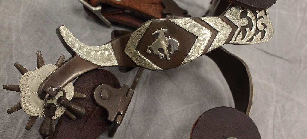 Brown Cowboy Spurs - 4