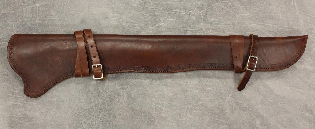 Brown Rifle Scabbard