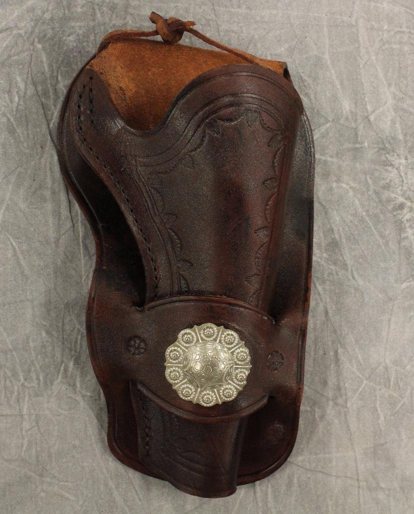 Brown Holster with Center Concho