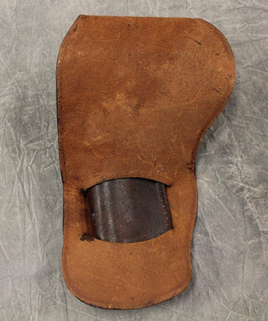 Brown Holster with Center Concho - 3