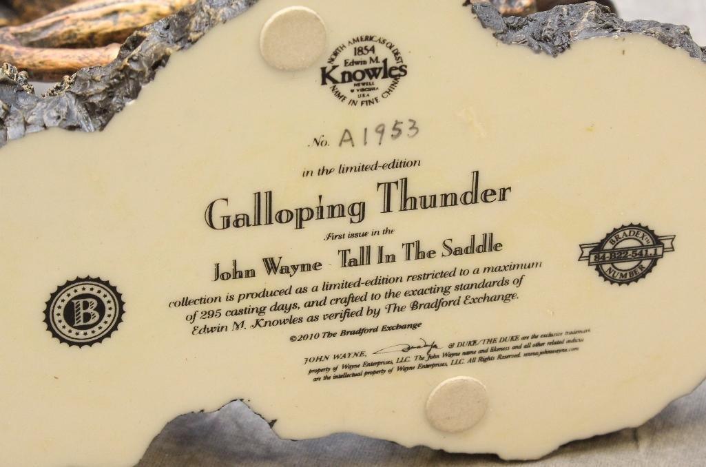 Bradford Statue Galloping Thunder - 3