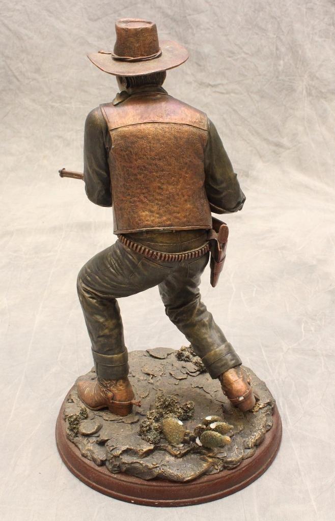 "Bradford Exchange John Wayne Sculpture ""Lawman"" - 3"