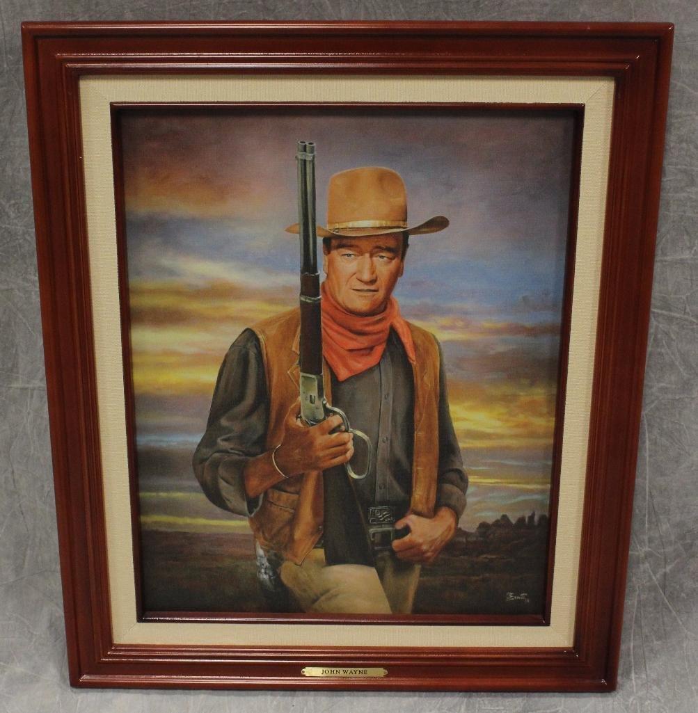 Bradford Color John Wayne Portrait