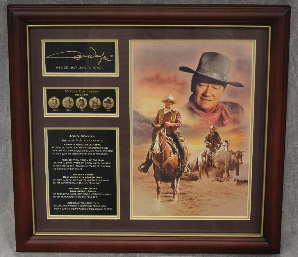 Bradford John Wayne Plaque