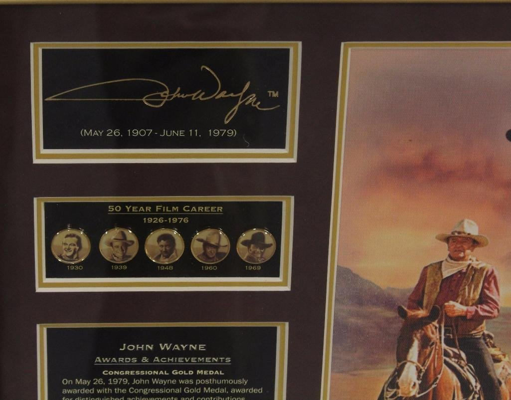 Bradford John Wayne Plaque - 2