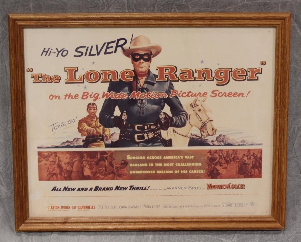 Lone Ranger Lobby Card